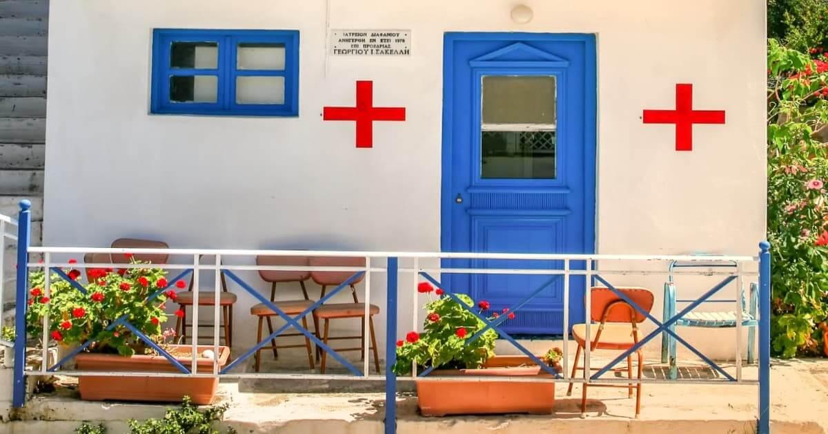 島の診療所